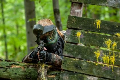 Paintball w górach
